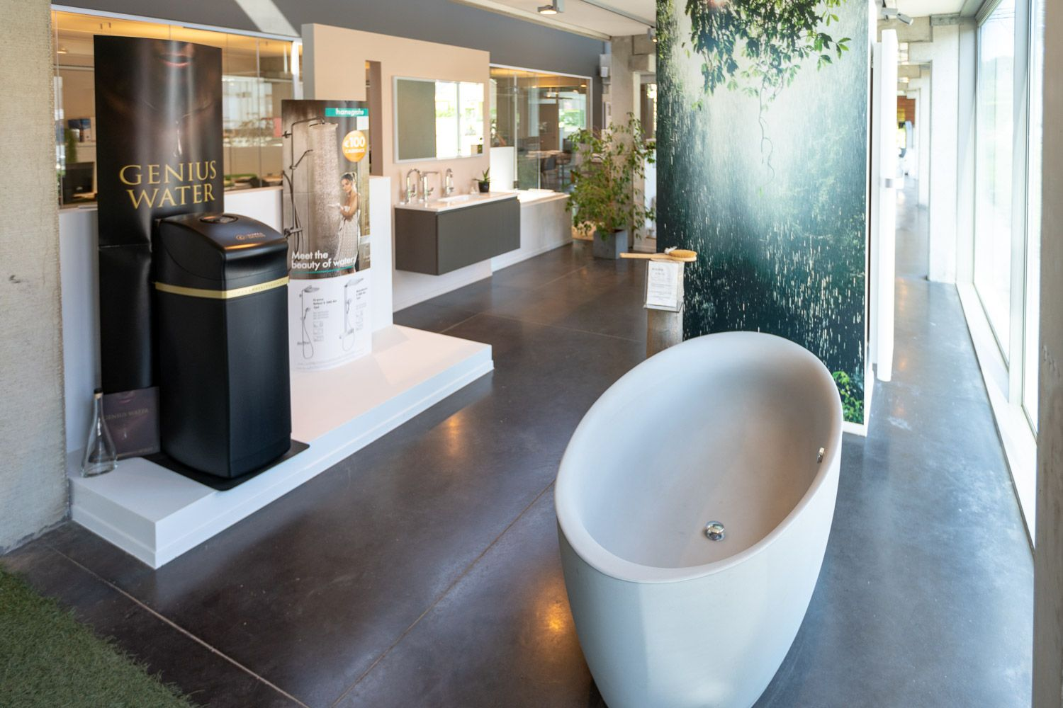 Cnockaert showroom sanitair en zuiver drinkwatersystemen